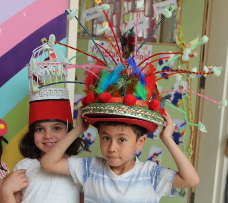 Preschool - Crazy Hat Day